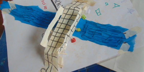 Abridge made by children aspiring to be engineers.