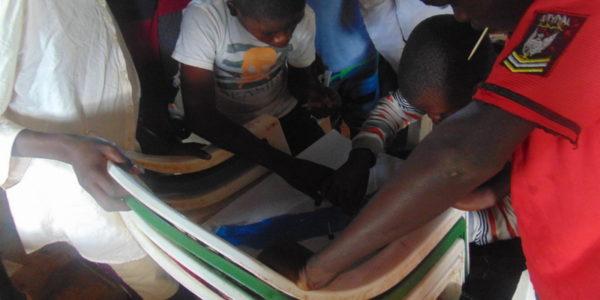 children during group work