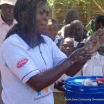 Teaching safe hygiene and sanitary practices