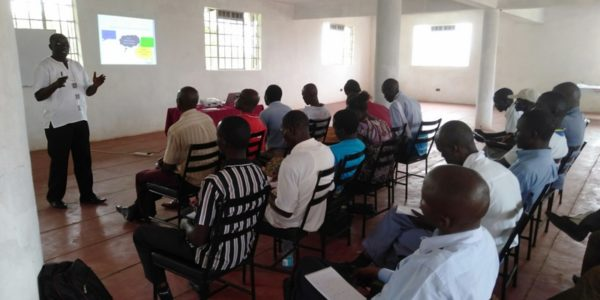 Masons training for Rarieda and Ugunja Subcounties